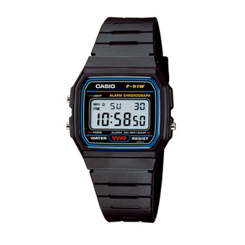 CASIO 'F91W' - watch