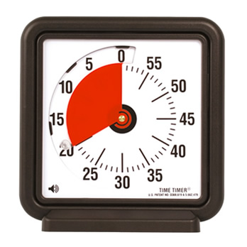 TIME TIMER Tischuhr 18 x 18 cm - table stopwatch
