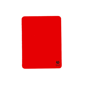 Volleyball Rote Karte,neonrot - Volleyball Disciplinary Card, neonred