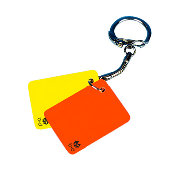 b+d 'Key-Card'  -  key ring with small cards