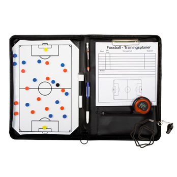 b+d Coach Mappe für Fußball  - coach folder for football
