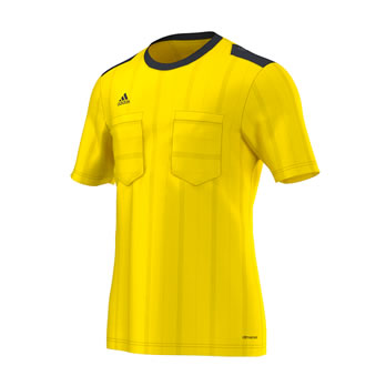 UCL Referee Jersey Trikot yellow 2015/2016
