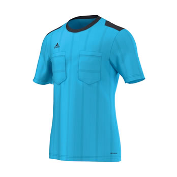 UCL Referee Jersey Trikot bright cyan 2015/2016