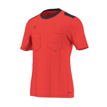 UCL Referee Jersey Trikot bright red 2015/2016
